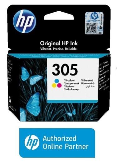 HP HP (305) ÜÇ RENKLİ MUREKKEP KARTUSU 100 SAYFA 3YM60AE Renkli